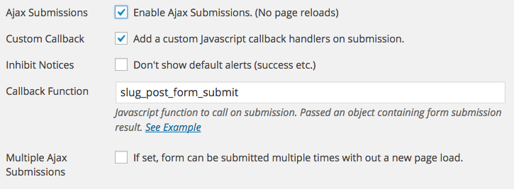 Custom Processing of Caldera Forms Submissions
