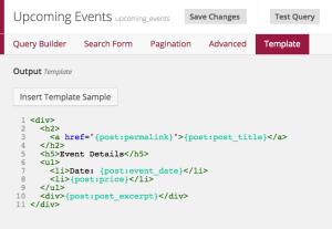 Using WordPress custom fields in an Easy Queries template.