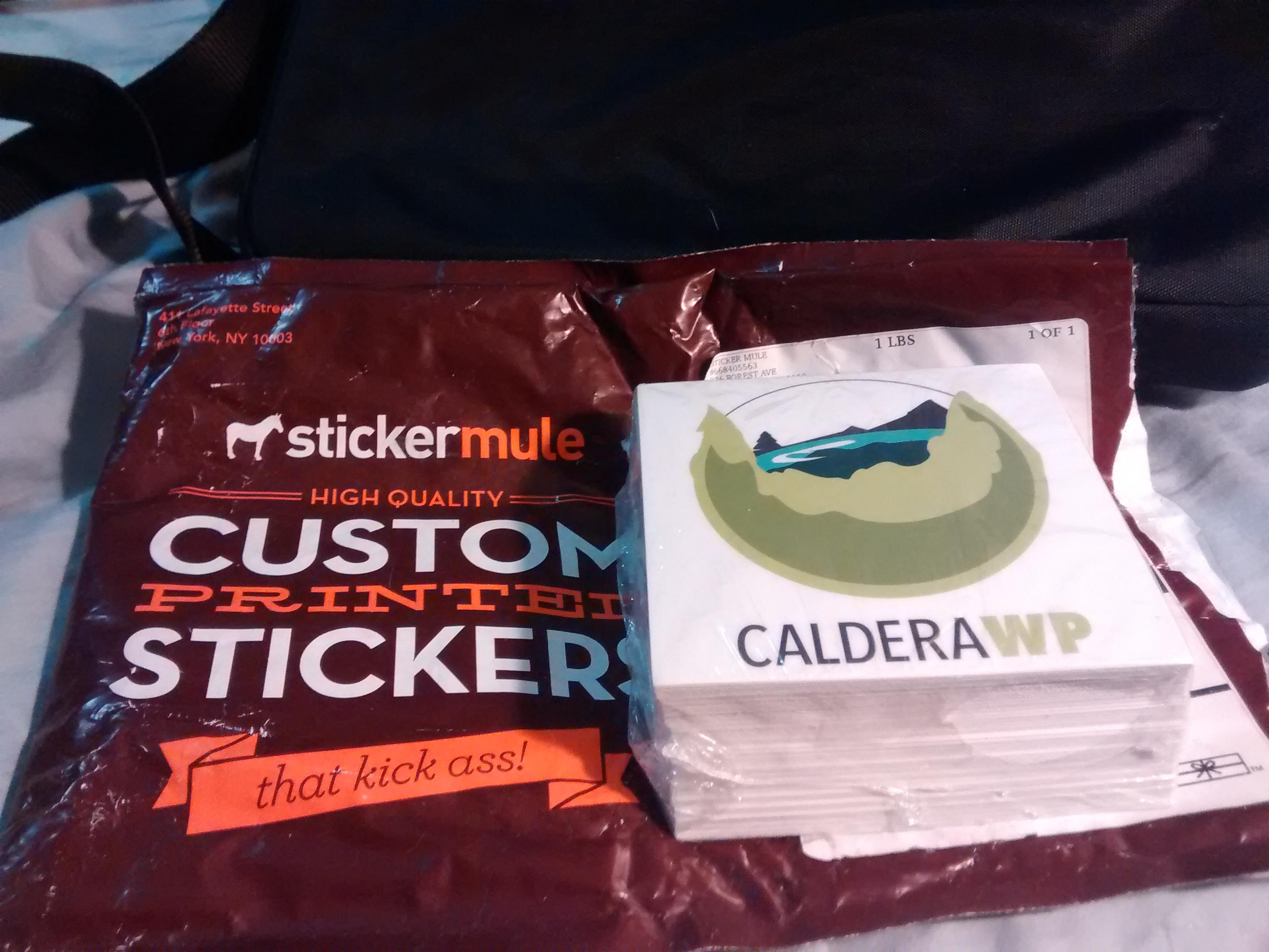 CalderaWP Stickers