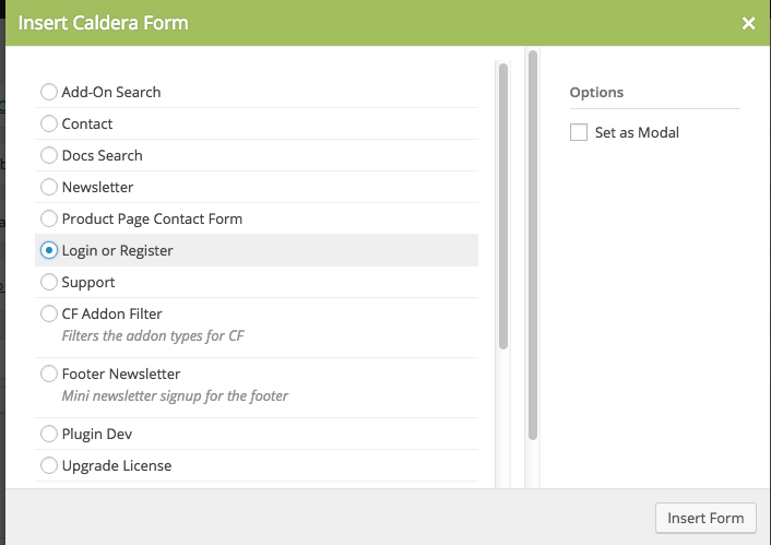 The Caldera Forms Shortcode - WordPress Form Builder | Caldera Forms
