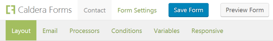 Saving and Previewing a form
