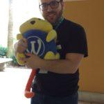 Josh Pollock with a MainWP stuffed Wappu