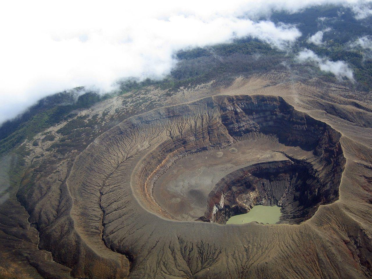 The Caldera of the Santa Anna Volcano