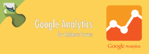 Caldera Forms Google Analytics Banner
