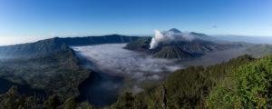 Tengger Caldera and Mount Bromo Volcano IE a Caldera