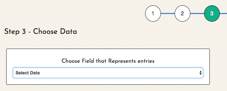Choosing a field that represents entires in EZData