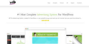 WP Pro Advertising System page screenshot