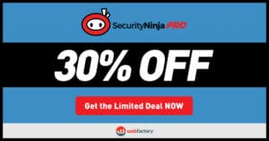 Security Ninja Black Friday