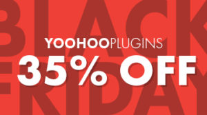 Yoohoo Plugins Banner: 35% off