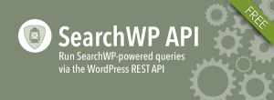 REST API Add-on For SearchWP