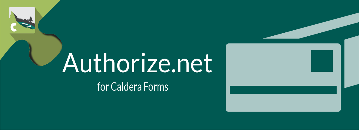 Authorize.net For Caldera Forms Banner