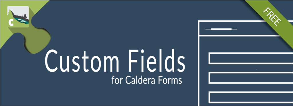 Custom Fields For Caldera Forms Add-on