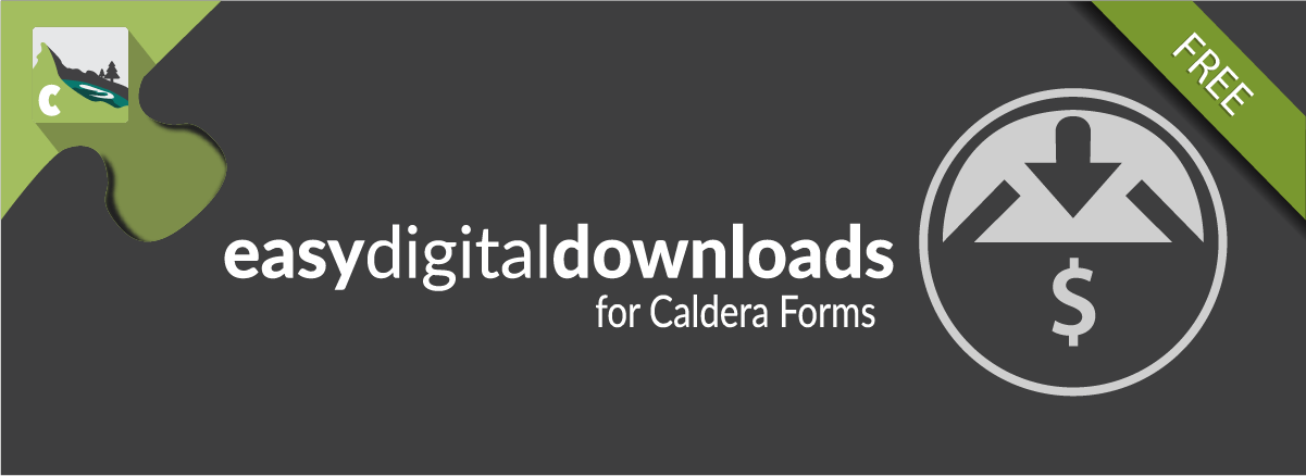 Easy Digital Downloads For Caldera Forms Banner