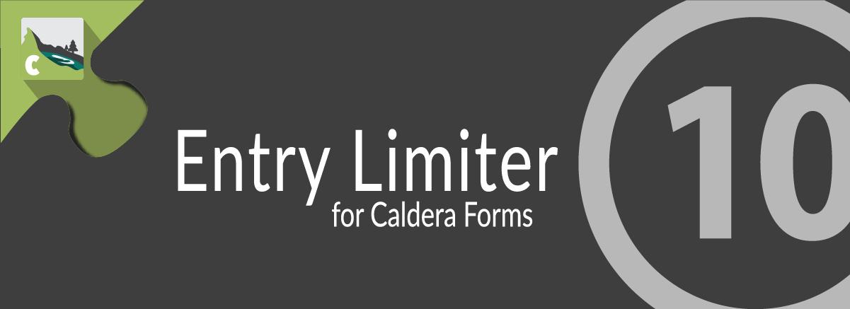 Caldera Forms Entry Limiter Banner