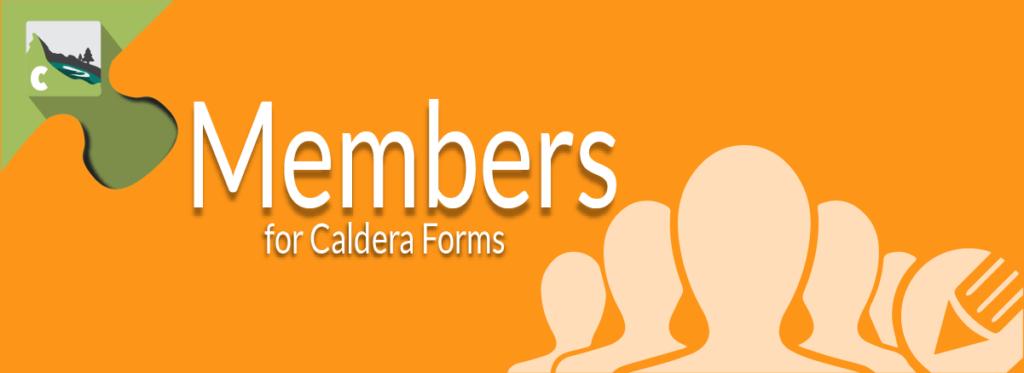 Members for Caldera Forms Banner