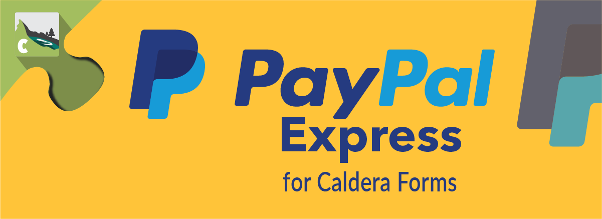 PayPal Express For Caldera Forms Banner