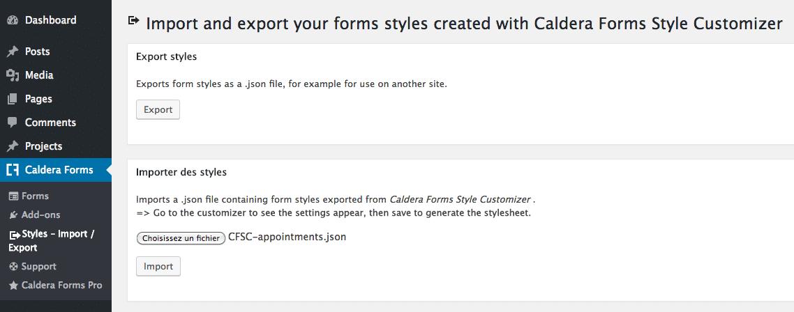 Caldera Forms Style Customizer For Divi & Extra - WordPress