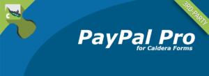 Caldera Forms PayPal Pro Banner