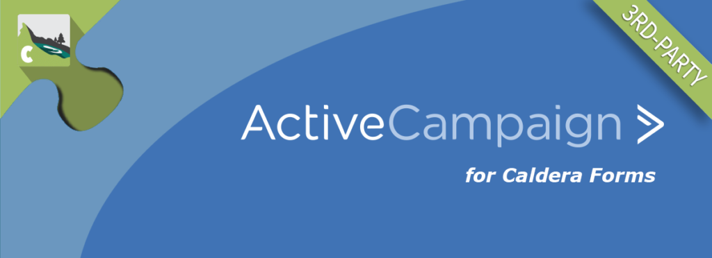 "banner image stating ""ActiveCampaign"" and 3rd party plugin"